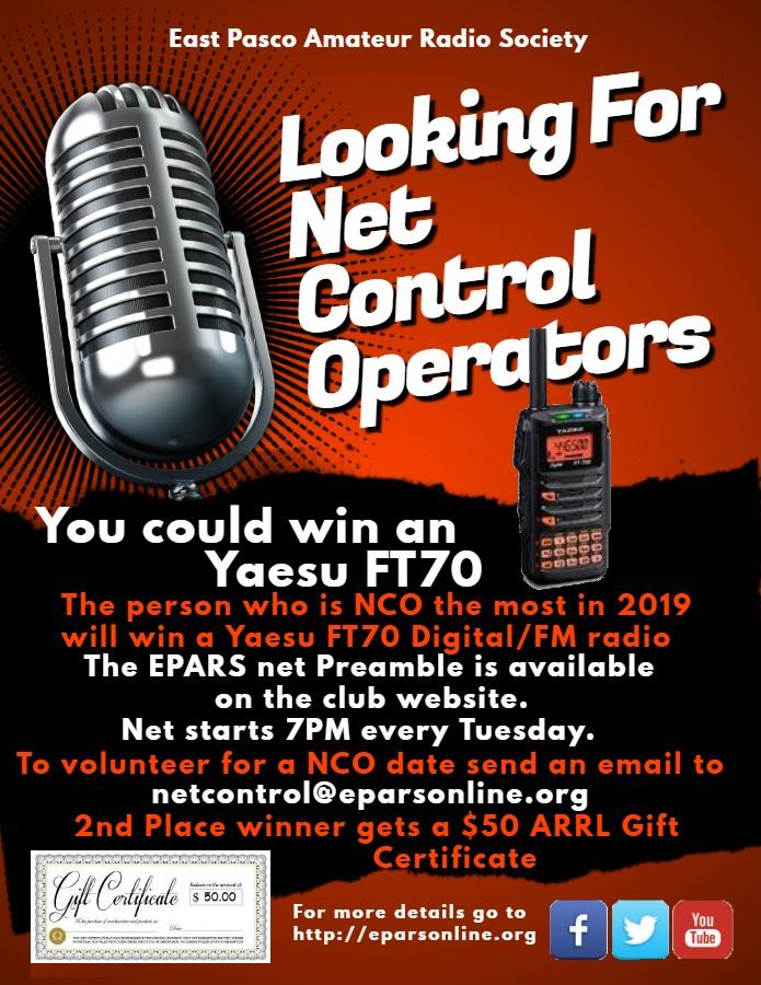 East Pasco Amateur Radio Society – Dade City Florida